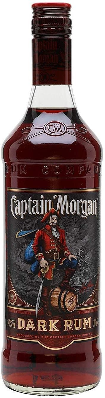 Ром Captain Morgan Black Rum 1л 40%