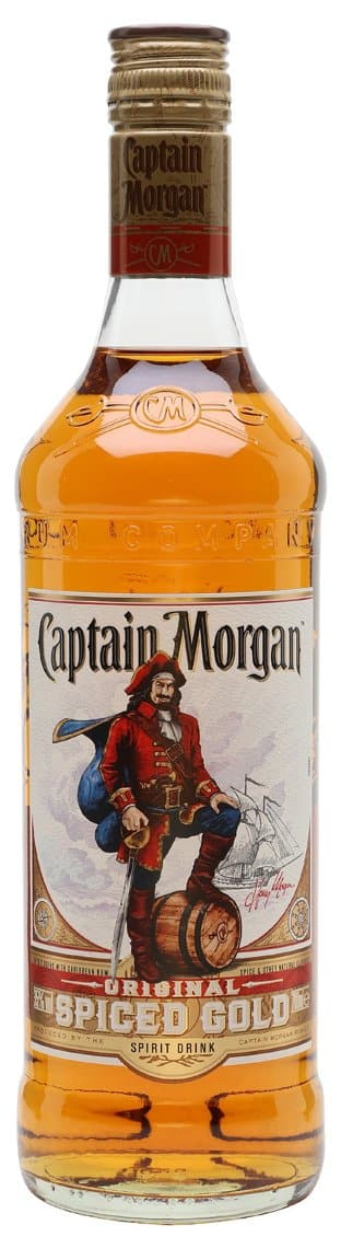 Ром Captain Morgan Original Spiced Gold 1л 35%