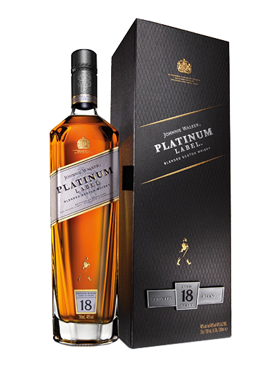 Купить - Виски Johnnie Walker Platinum 0.7л | VINTAGE