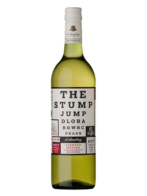 Вино d`Arenberg Stump Jump Wooded Chardonnay 0.75л