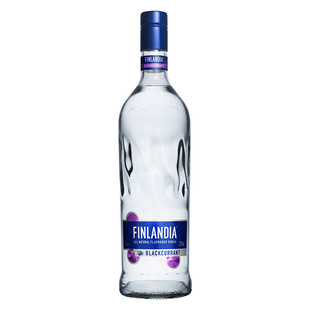 Горілка Finlandia Vodka Blackcurrant 0,5 л 40%