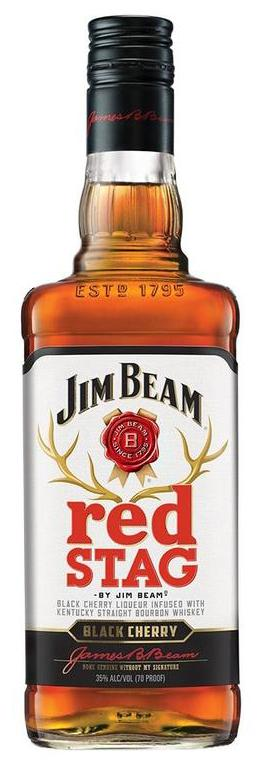 Купить - Виски Jim Beam Red Stag Black Cherry 0.7л | VINTAGE