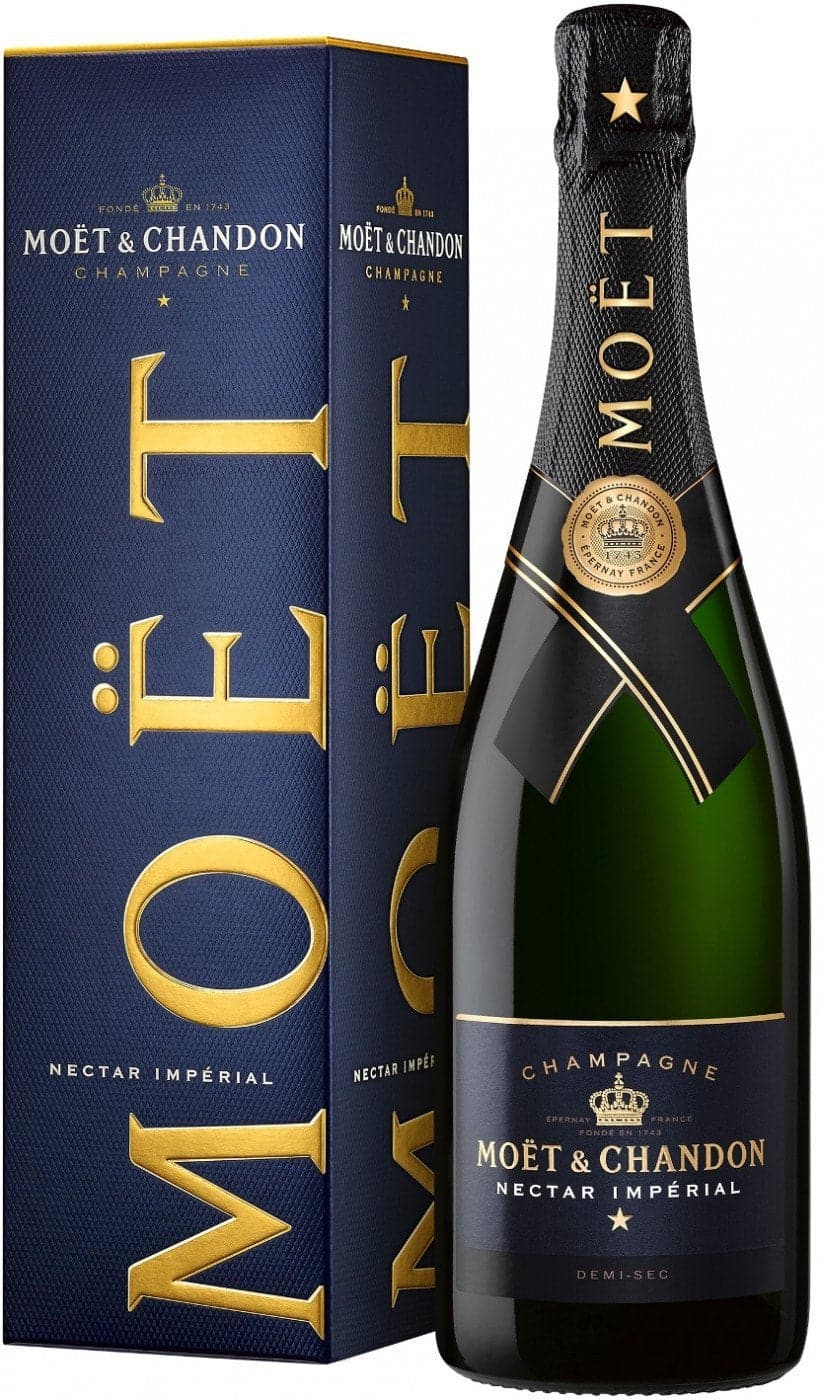 Шампанское Moet & Chandon Imperial brut nectar 0,75л В коробке