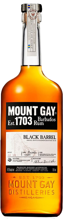 Купить - Ром Mount Gay Black Barrel 0.7л 40% | VINTAGE