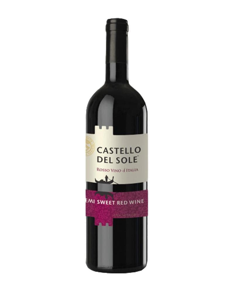 Вино Castello del Sole semi sweet 0,75л 12%