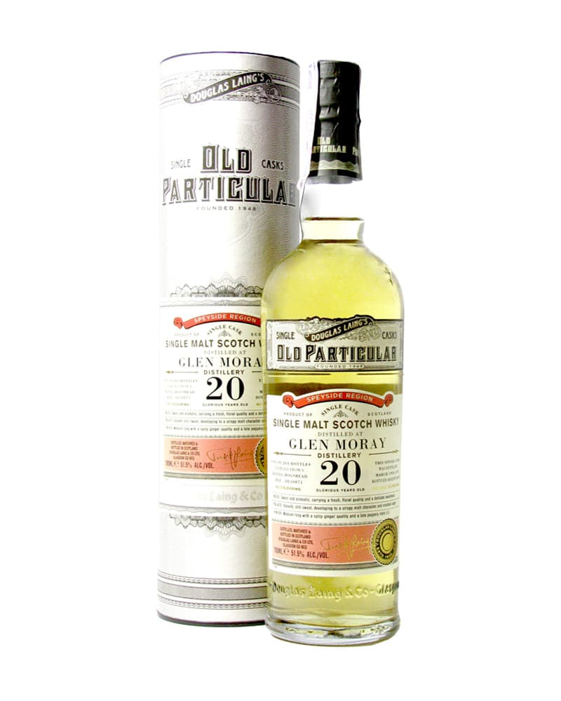 Виски Douglas Laing Old Particular Glen Moray 20 Y.O. 0,7л 51.5%