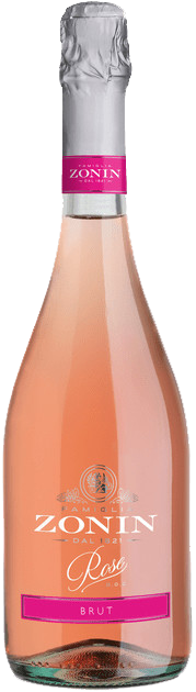 Ігристе Zonin Rose Brut 0,75л