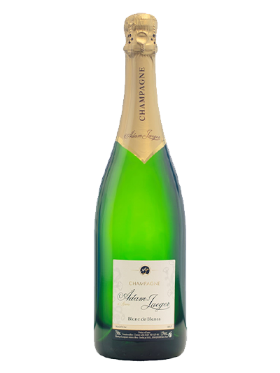 Шампанское Adam-Jaeger Blanc de Blancs Tradition Brut 0.75 л