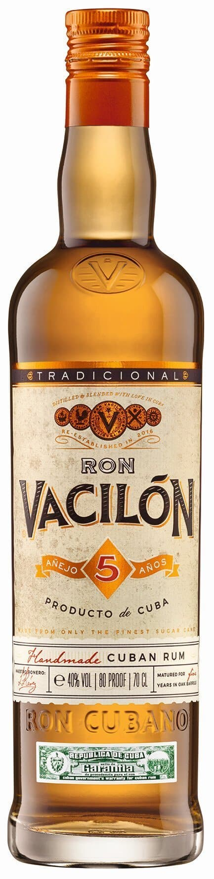 Ron Vacilon 5 Y.O.