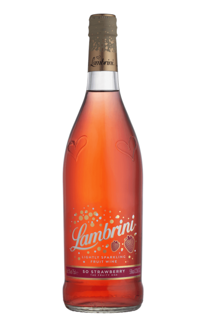 Сидр Lambrini So strawberry 0.75л 5%