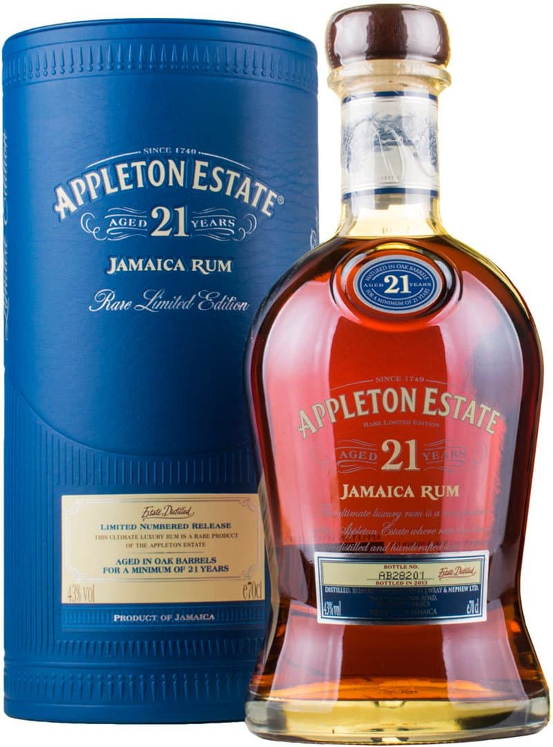 Ром Appleton Estate 21 Y.O. 0,7л 43% В тубусі