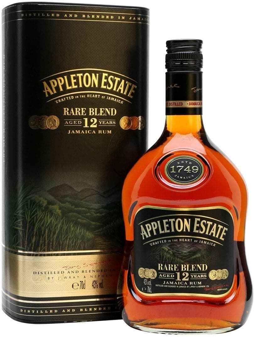 Купить - Ром Appleton Estate Rare Blend 12 Y.O. 0.7л 43% В тубусе | VINTAGE