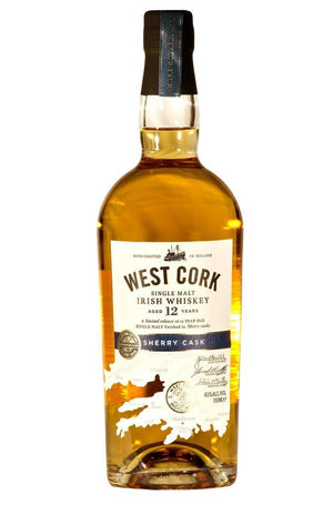 Виски West Cork Sherry Cask 12 Y.O. 0.7л 43%