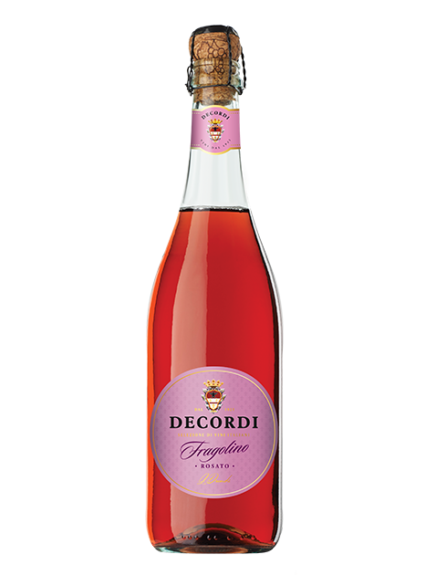 Игристое Decordi Fragolino Rosato 0,75л