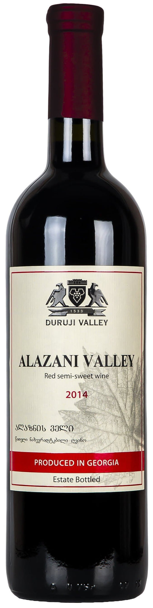 Купить - Вино Duruji Valley Alazani Valley 0.75л 10% | VINTAGE