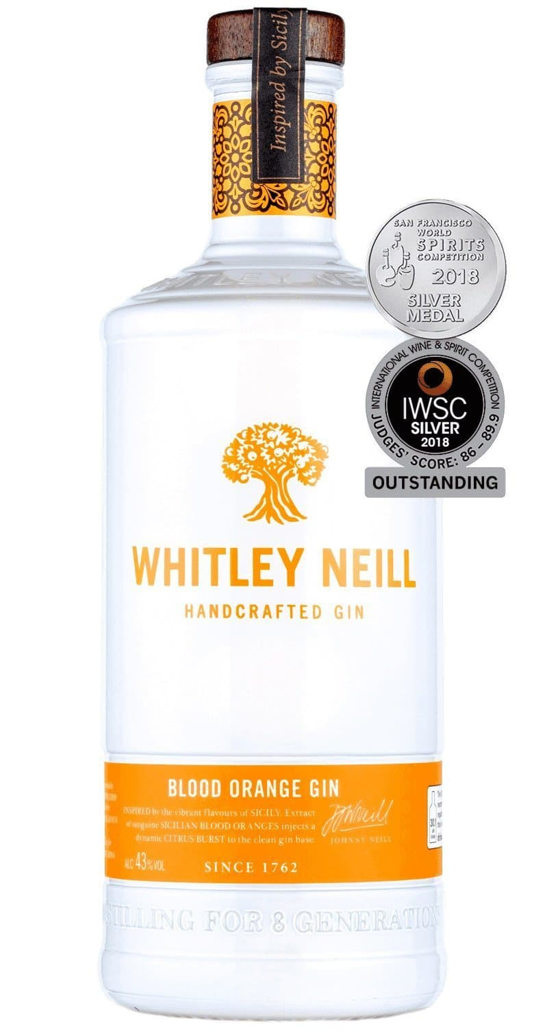 Купить - Джин Whitley Neill Blood Orange 0.7л 43% | VINTAGE