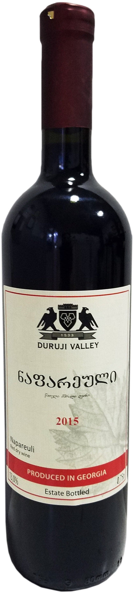 Вино Duruji Valley Napareuli 0,75л 12%