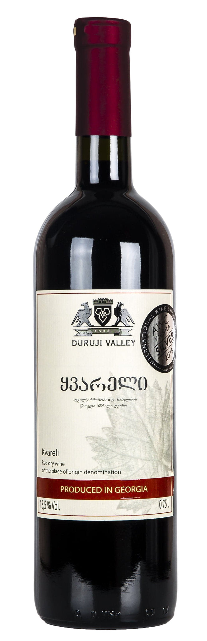 Вино Duruji Valley Kvareli 0,75л 12,5%