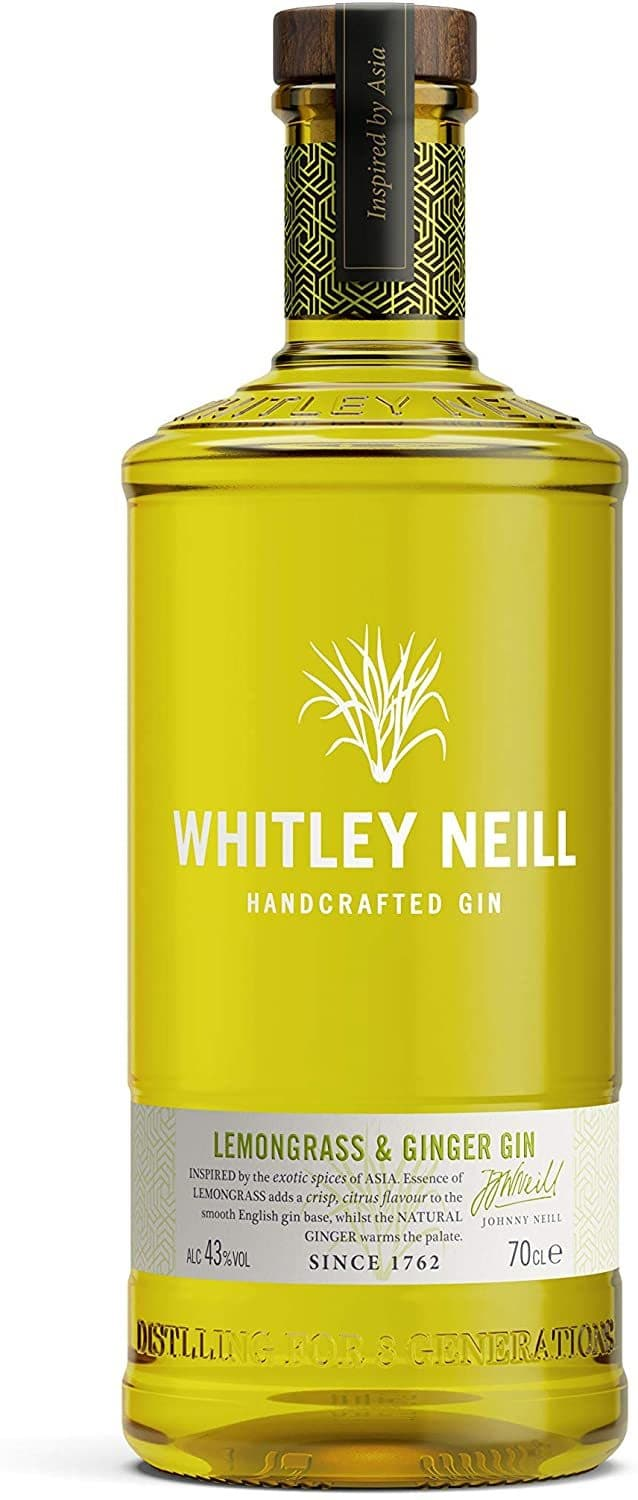 Джин Whitley Neill Lemongrass & Ginger 0,7л 43%