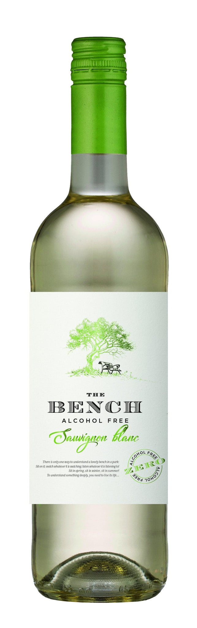 Вино безалкогольное Les Grands chais de France The Bench Sauvignon Blanc Alcohol Free 0,75л 0%