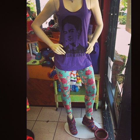 Frida Purple tank