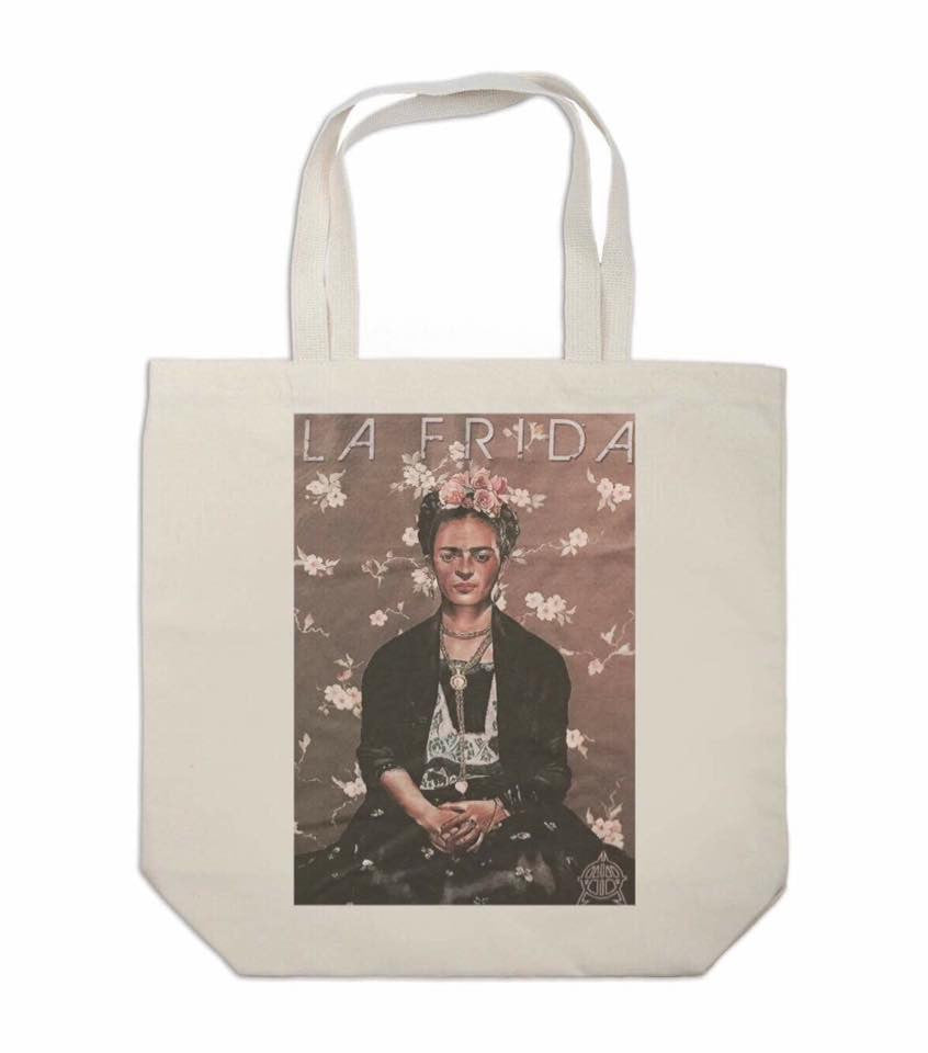 Frida Canvas Tote