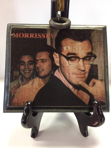 Morrissey Wooden Plaque