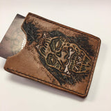 Men's Genuine Leather Simple Wallets