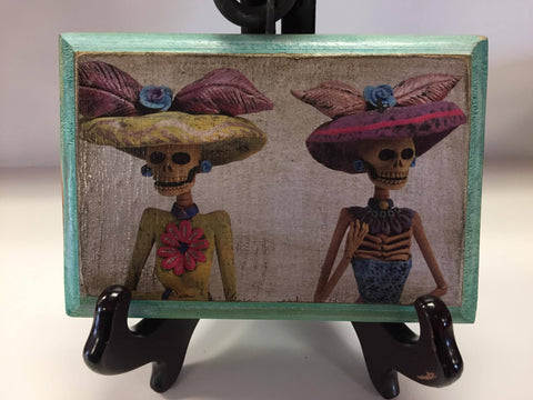 Dos Mujeres Catrinas Day of the Dead