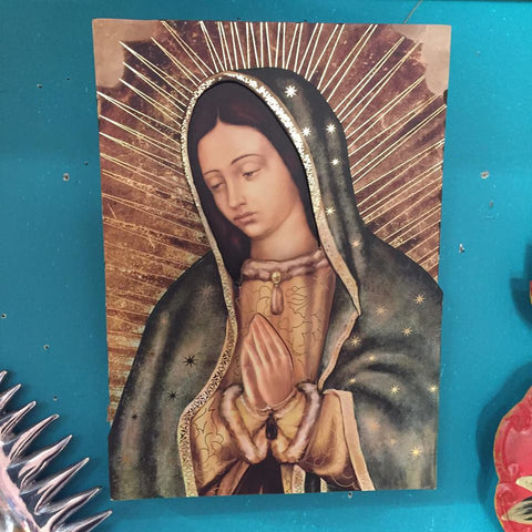 La Virgencita Art Plaque