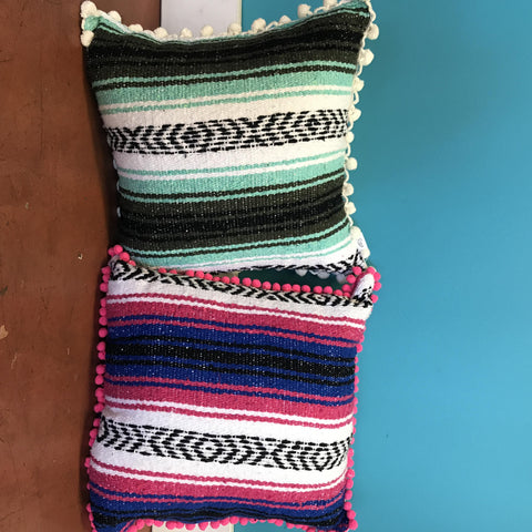 Sarape Throw Pillows