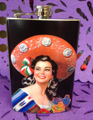 Mexican Beauty Flask