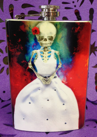 Muerta Bride Flask