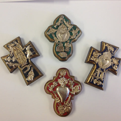 Small Milagro Crosses