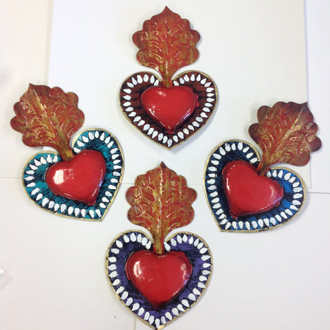 Small Tin Hearts