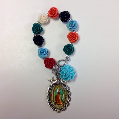 Virgen Roses Bracelet- Limited Edition