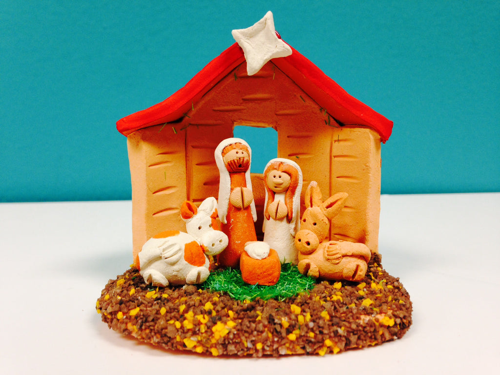 Red Roof Nativity