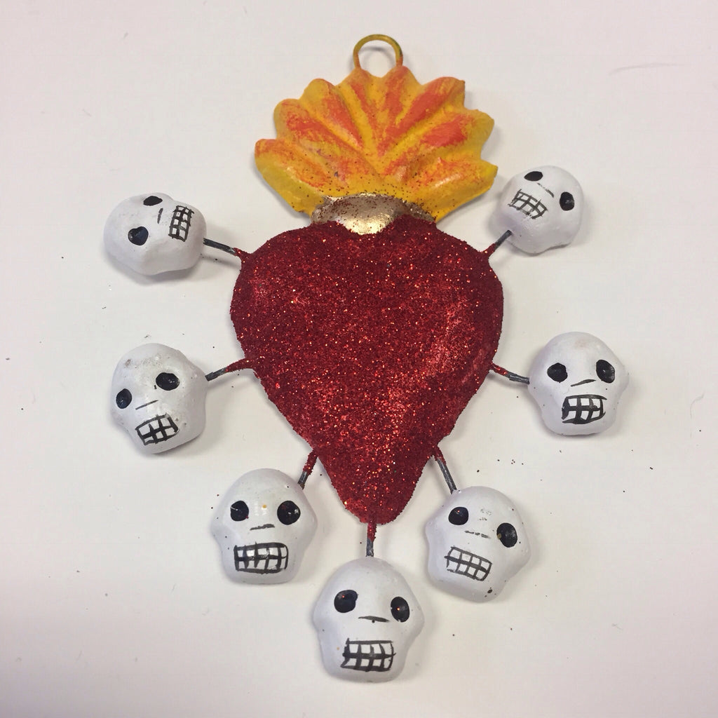 Heart with Flame