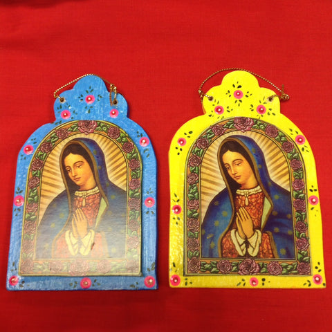 Virgen Framed Ornament