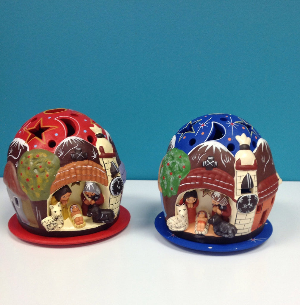Dome Votive Nativity