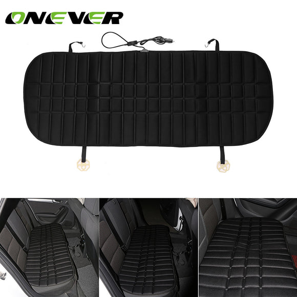 Onever Safety 12V Winter Car Rear Seat Heated Cushions Backseat Heating Pad HI/LO Mode for Cold Weather and Winter Driving - g-y-mega-store