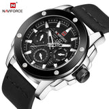 NAVIFORCE Luxury Famous Brand Man's Watches Fashion Elegant Quartz Wristwatch Leisure Army Military Design Men Clock Uomo Watch - g-y-mega-store
