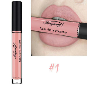 MISS YOUNG Liquid Lipstick Moisturizer Velvet Lipstick Cosmetic Beauty Makeup - g-y-mega-store