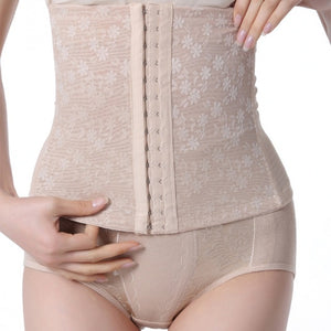 2018 New Summer Body Shaper Women Breathable Shapewear Tummy Girdle Waist trainer Corset Postpartum Slimming Corselet