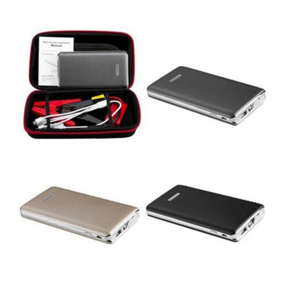 Multifunctional  Large Capacity 30000mAh Portable LED Car Jump Starter Emergency Start Power Supply Vehicle Engine Booster