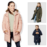 Boys Coats Toddler Girl Winter Clothes Fur Hooded Girls Coats and Jackets Boys Down Parkas Windbreaker Kids Jacket for Girls - g-y-mega-store