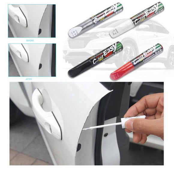 4 Colors Car Scratch Repair Pen Fix it Pro Maintenance Paint Care Car-styling Scratch Remover Auto Painting Pen Car Care Tools - g-y-mega-store