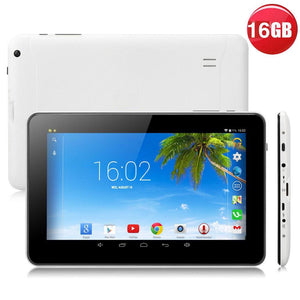 "White 9"" Tablet PC Android 4.4 - g-y-mega-store"