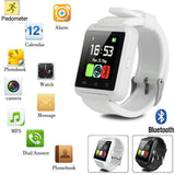LATEST Bluetooth Smart Watch Camera SIM Slot For HTC Samsung Android Phone