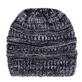 Women Baggy Warm Crochet Winter Wool Knit Ski Beanie Skull Slouchy Caps Hat - g-y-mega-store